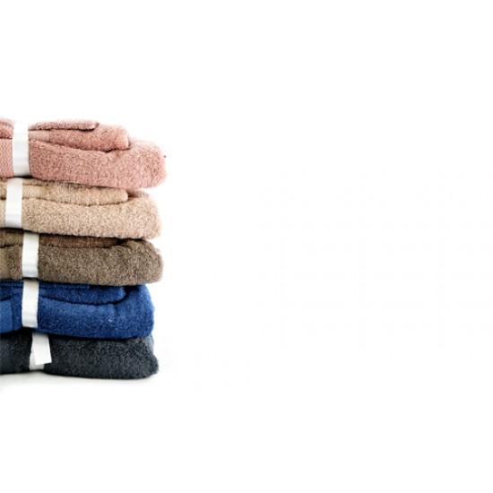Bathroom Towels Set  Brown